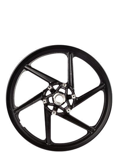 Two Wheeler Alloy Wheel Front - Disc Brake