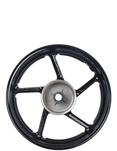 Two Wheeler Alloy Wheel Rear - Drum Brake