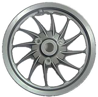 Front Alloy Wheel with Disk Brake